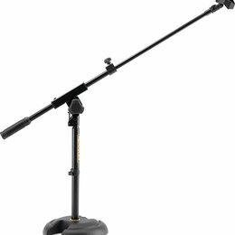 Аксессуары для микрофонов - Hercules MS120B Стойка для микрофона журавль,…, 0