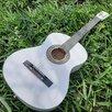 Гитара белая классическая по цене 3800₽ - Акустические и классические гитары, фото 1