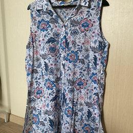 Блузки и кофточки - Туника женская летняя с цветами Ostin р. 50, 0