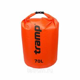 Спортивная защита - Tramp гермомешок нейлон 70 л (красный), 0
