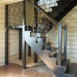 Лестницы и элементы лестниц - Лестница на этаж частного дома , 0