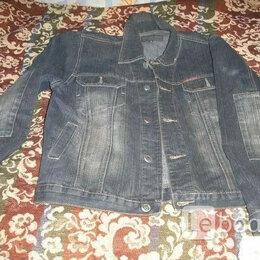 """Куртки - Куртка р46(евр.) джинсовая """"Dragon King Jeans"""" новая. См. размеры. , 0"""