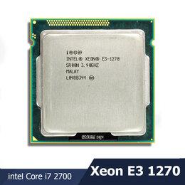 Процессоры (CPU) - intel Core i7-Xeon E3-1270, s1155, oбмен на ваш, 0