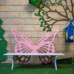 Скамейки - Скамейка садовая «Бабочка», 0