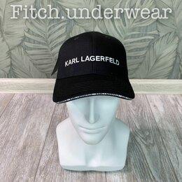 Головные уборы - Кепка Karl Lagerfeld чёрная, 0