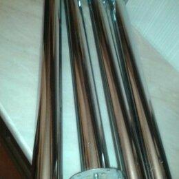 Комплектующие - ОПОРЫ ножки для стола ХРОМ 71х6,5 см НОВЫЕ, 0