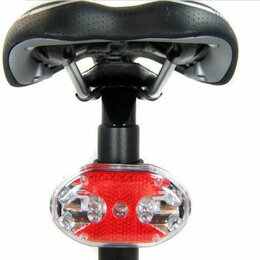 Фонари - Велофонарь задний 9LED (красный свет), 0