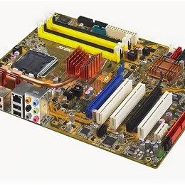 Материнские платы - Материнская плата ASUS P5K LGA775 DDR2, 0