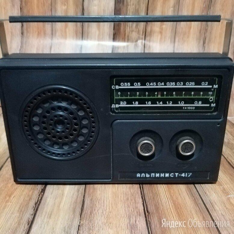Приёмник Альпинист - 417, СССР  по цене 350₽ - Радиоприемники, фото 0
