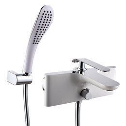 Смесители - Смеситель для ванны и душа LEMARK Melange LM4914CW, 0