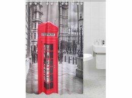 Шторы и карнизы - Rpe-730008 штора для ванной комнаты, 0