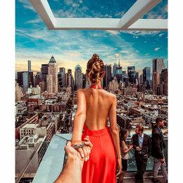 Картины, постеры, гобелены, панно - КАРТИНА ПО НОМЕРАМ 40Х50 Следуй за мной. Манхэттен, 0