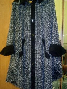 Пальто - Пальто женское в стиле пончо (эксклюзив), 0