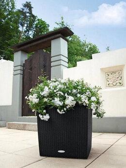 Горшки, подставки для цветов - Продать кашпо Лечуза Куб коттедж , 0