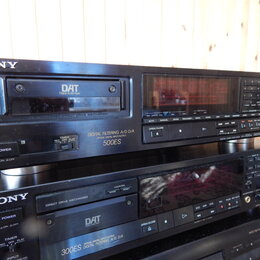 Музыкальные центры,  магнитофоны, магнитолы - DAT магнитофон SONY DTS-500ES, 0