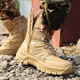 Ботинки - Тактическая обувь с высоким берцем, 0