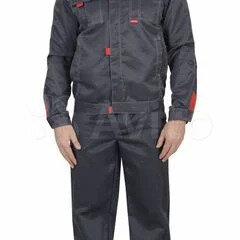 Одежда - Костюм Фаворит-1 (тк.Смесовая,210) брюки, т.серый/серый, 0
