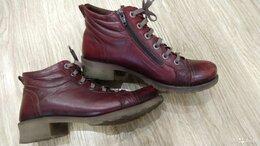 Ботинки - Ботинки женские осень-весна кожаные inario р. 38, 0