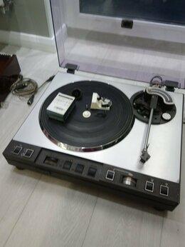 Проигрыватели виниловых дисков - Проигрыватель виниловых пластинок Эпос-001-Стерео, 0