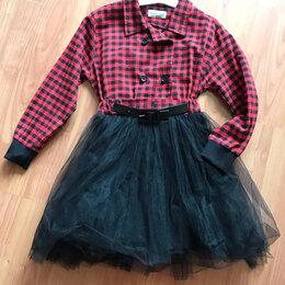 Платья и сарафаны - платье с пышной юбкой на 8-9 лет , 0