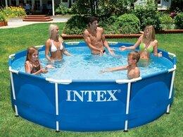 Бассейны - Каркасный бассейн INTEX Metal Frame (круг) 3.05…, 0
