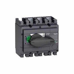 Защитная автоматика - Выключатель-разъединитель INS250 100а 3п , 0
