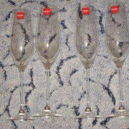 Бокалы и стаканы - Бокалы 4 штуки., 0