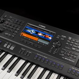 Клавишные инструменты - Yamaha PSR-SX900 рабочая станция, 0