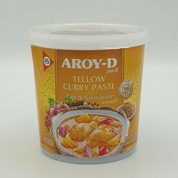 Продукты - Паста Карри Желтая Aroy-D, 400 гр, 0