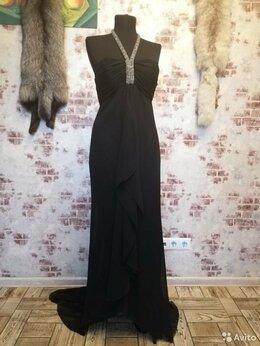 Платья - Платье вечернее черное, 0