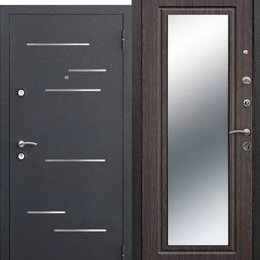Входные двери - Дверь входная 9см Версаль зеркало 3 контура уплатнения. Распродажа, 0