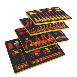 Наборы инструментов и оснастки - Набор инструментов 100 предметов изолированных…, 0