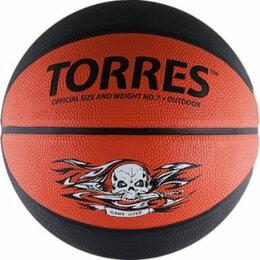 Мячи - Баскетбольный мяч TORRES Game Over, 0