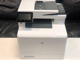 Принтеры и МФУ - Новый Мфу лазерный, принтер цветной HP M477fdn, 0