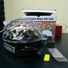 Новогодний декор и аксессуары - Диско Шар Magic Ball Light (Bluetooth), 0