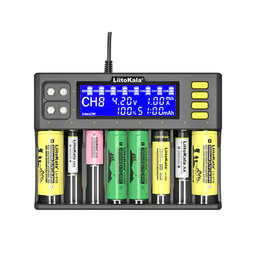 Зарядные устройства для стандартных аккумуляторов - Зарядное устройство LiitoKala Lii-S8 Lii-600…, 0