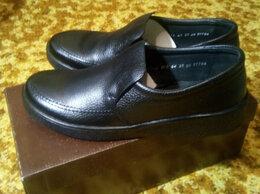 Ботинки - Мужские полуботинки Denvis новые (кожа), 0