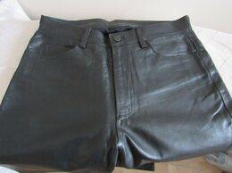 Брюки - Брюки женские кожаные р 48 б/у, 0