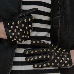 Перчатки и варежки - Перчатки кожаные с шипами новые, 0