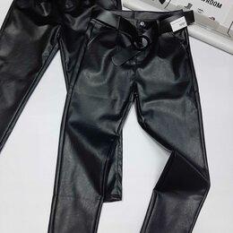 Брюки - Кожанные брюки, 0