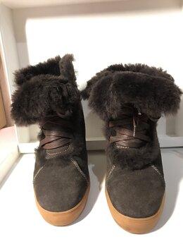 Полусапоги -  женские полусапожки / ботинки новые, замшевые…, 0