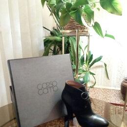 Ботинки - Ботинки женские кожаные corso como, размер 37.5, 0