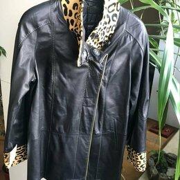 Куртки - Куртка кожа натуральная, 0
