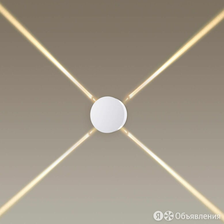 Настенный светодиодный светильник Odeon Light Beata 4261/8WL по цене 3300₽ - Настенно-потолочные светильники, фото 0