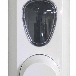 Мыльницы, стаканы и дозаторы - Диспенсер для мыла-пены в мягких картриджах белый LIME (972000), 0