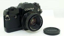 Пленочные фотоаппараты - Фотоаппарат Contax 137 MA Quartz с объективом…, 0