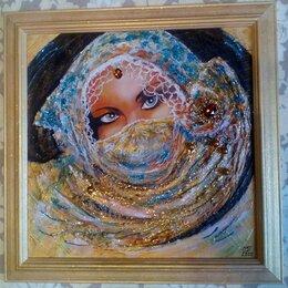 Картины, постеры, гобелены, панно - Картина c девушкой Богиня востока (девушка фэнтези) интерьерная живопись, 0