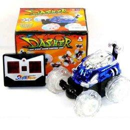 Радиоуправляемые игрушки - Машинка перевертыш Dasher  П/У (свет,муз), 0