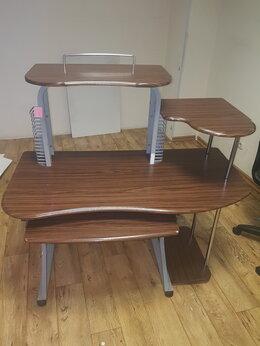 Компьютерные и письменные столы - Стол комрьютерный бюрократ, 0