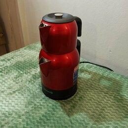 Электрочайники и термопоты - Электрический двойной чайник Demkolik 359-05 1600w, 0